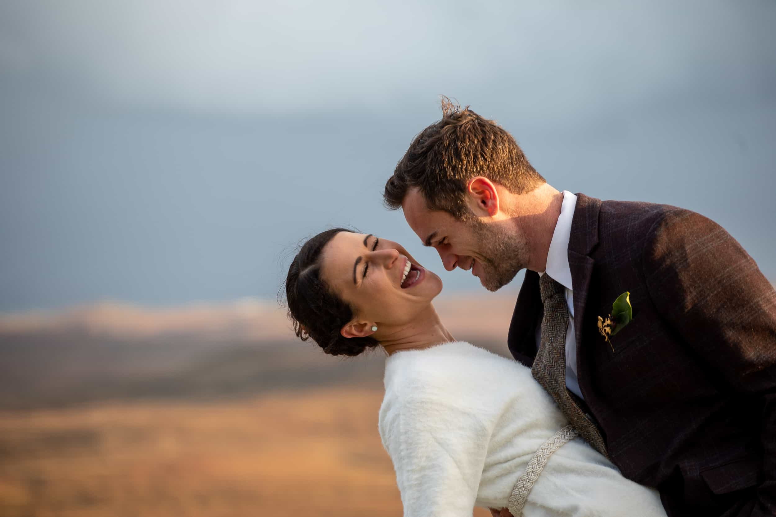 Elopement Photography Quiraing Isle of Skye sunset ceremony quaich