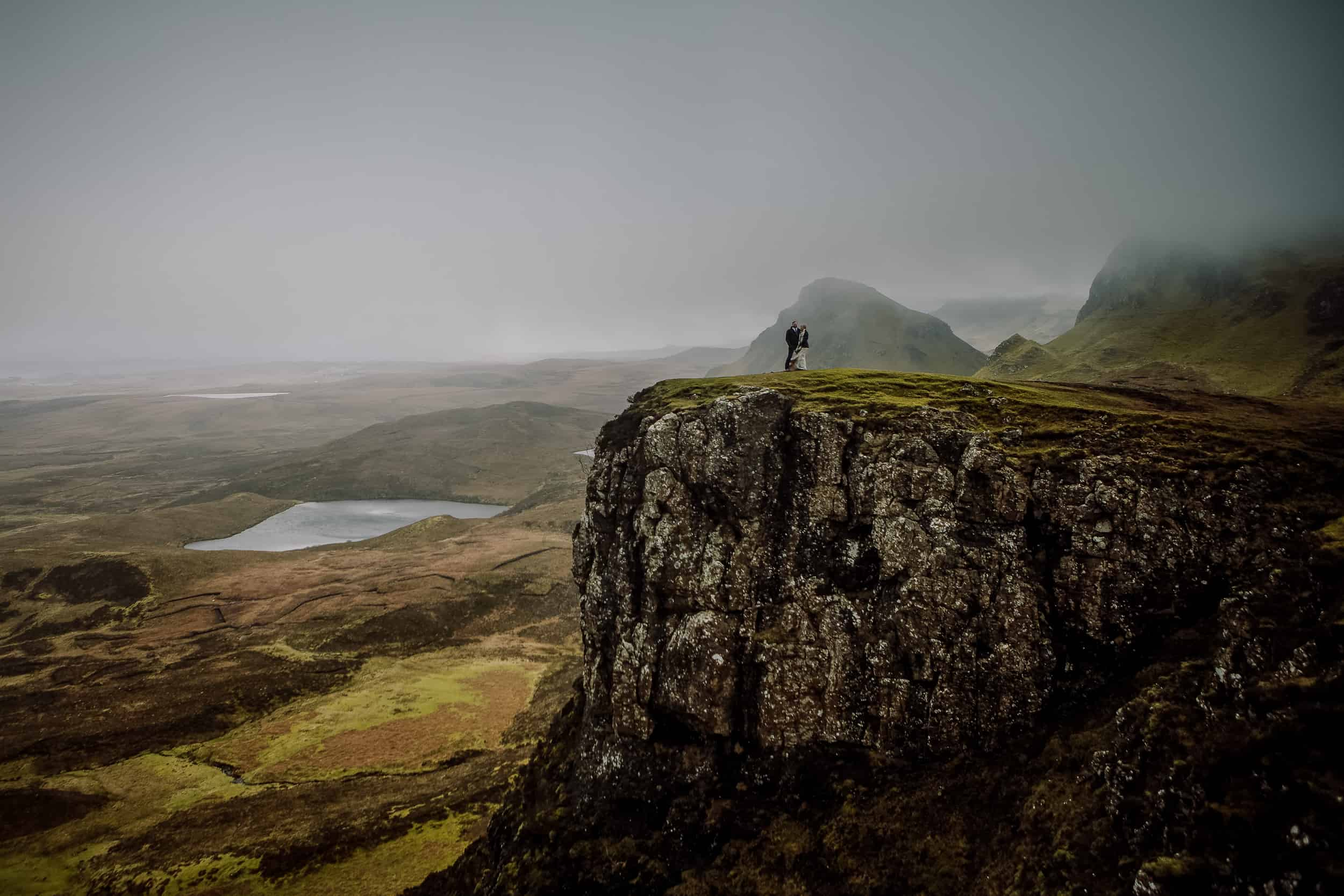 Elopement wedding photography Quiraing Isle of Skye