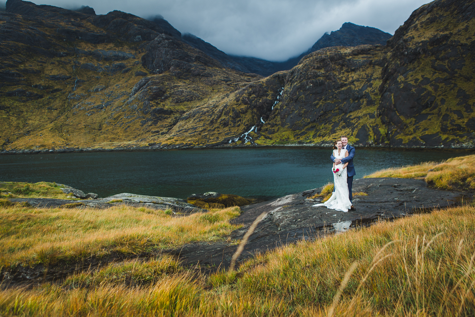 skye elopement loch coruisk wedding photography