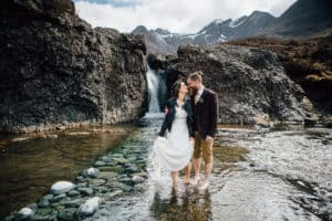 Fairy Pools Isle of Skye Elopement wedding photography
