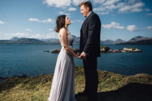 Wedding photography Cuillin ridge Dunscaith Isle of Skye
