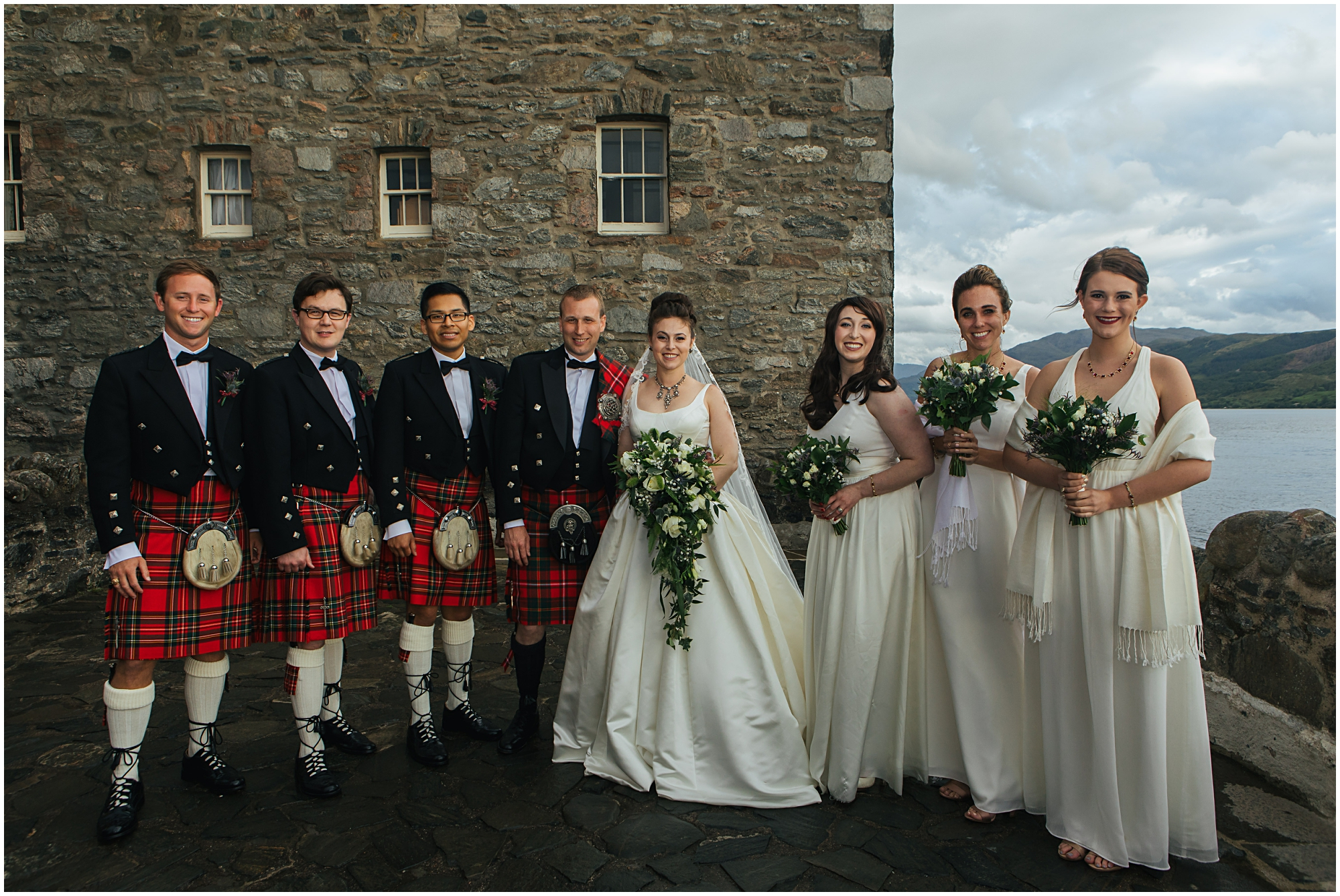 Eilean Donan Castle wedding photographer, eilean Iarmain hotel wedding photography
