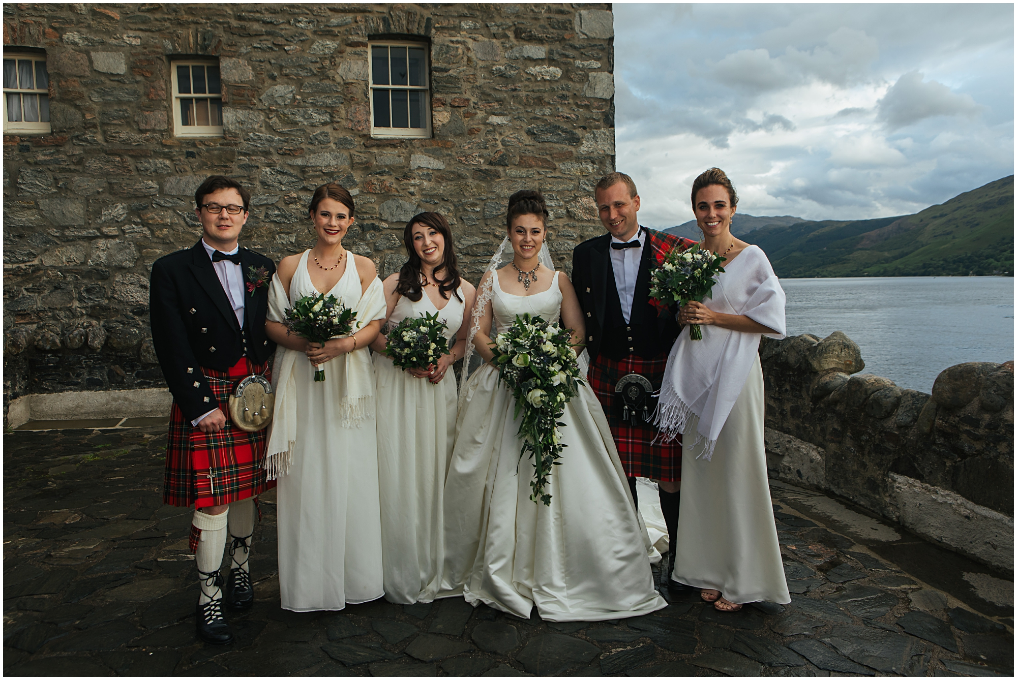 Eilean Donan Castle wedding photographer, eilean Iarmain hotel wedding photography