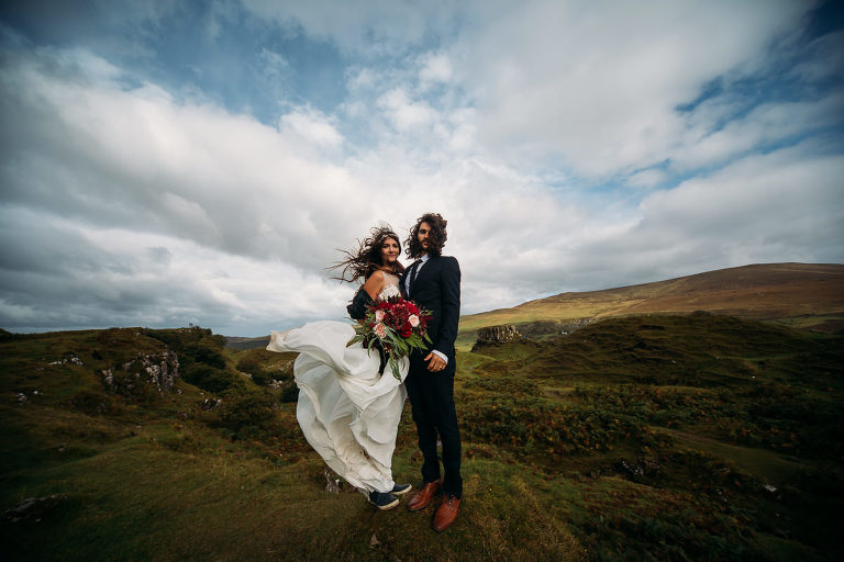 Fairy Glen Isle of Skye wedding photography | Love Skye