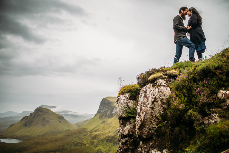 Elopement photography at Quiraing Isle of Skye