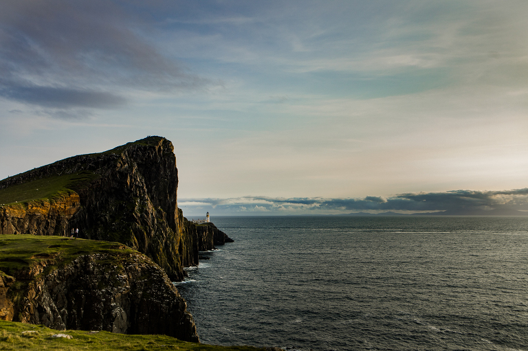 Proposal photography at Neist Point Isle of Skye