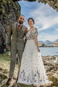 Dunscaith castle Isle of Skye wedding Photography