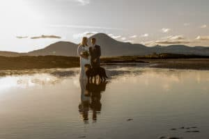 Adventure hiking elopement wedding Isle of Skye, Scotland